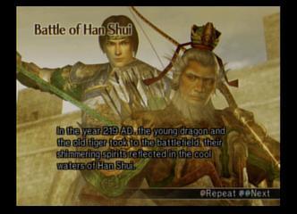DW5 Han Shui prebattle