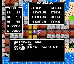 Dragon Warrior Dragonlord