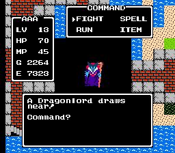 Dragon Warrior I Dragonlord first form