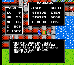 Dragon Quest 1 MP