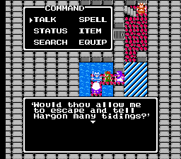 Dragon Warrior II 2 Midenhall Evil Clown Thunder Staff