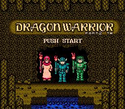 Dragon Warrior II 2 Startup
