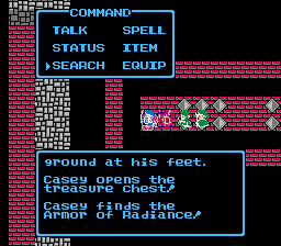 Dragon WArrior III Armor of Radiance