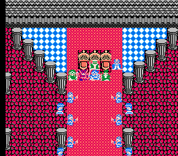 Dragon warrior III Tantegel King