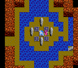 Dragon Warrior III Healing Spring