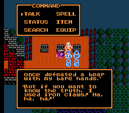Dragon Warrior III 3 Iron Claws