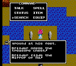 Dragon Warrior III Mirror of Ra