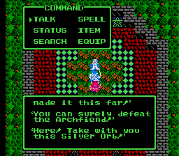 Dragon Warrior III Silver Orb