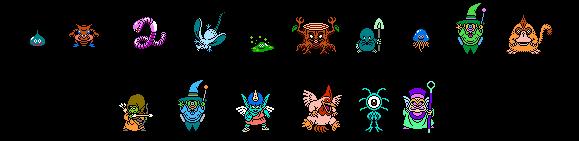 Dragon Warrior IV Monster List
