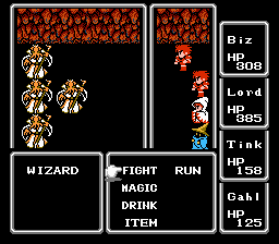 Final Fantasy I Wizards