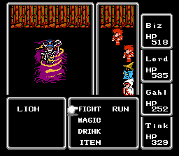 Final Fantasy I Lich