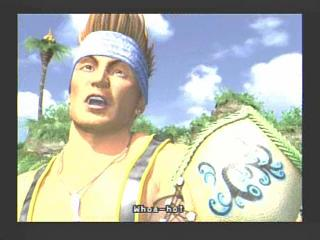 Final Fantasy X 10 Wakka in Besaid