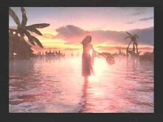 Final Fantasy X 10 Yuna Kilika Prayer