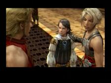Final Fantasy XII Lamont meets Balthier, Vaan
