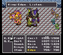 Final Fantasy Iv Edge's Parents