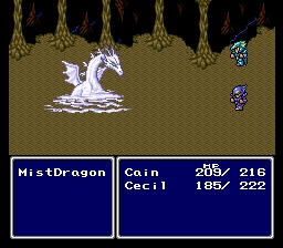 Final Fantasy IV 4 Mist Dragon