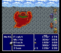 Final Fantasy IV Motherbomb