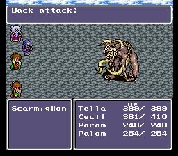 Final Fantasy IV Scarmiglone