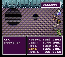 Final Fantasy 4 Bahamut