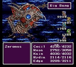 Final Fantasy IV Big Bang