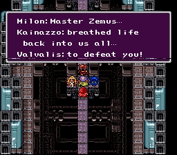 Final Fantasy IV Fiends Zemus
