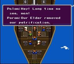 Final Fantasy IV 4 Palom Porom