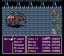 Final Fantasy IV Wyvern