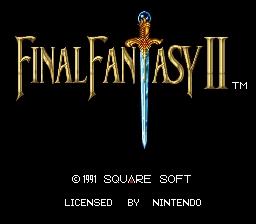 Final Fantasy II IV 2 4