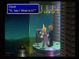Final Fantasy VII Rude Capture