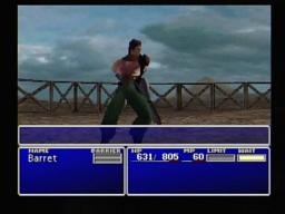 Final Fantasy VII Dyne Barret