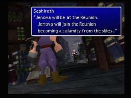 Final Fantasy VII Sephiroth Nibelheim Reunion