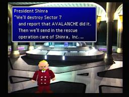 Final Fantasy VII Shinra President