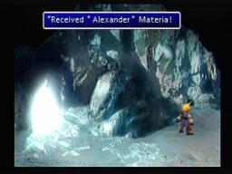 Final Fantasy VII Alexander Summon