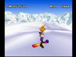 Final Fantasy VII Cloud Snowboard