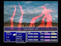Final Fantasy VII Ruby Weapon dies