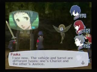 Persona 3 Chariot Justice