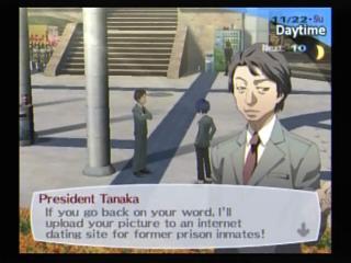 Persona 3 Tanaka