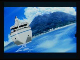 Persona 3 FES beach boat