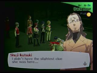 Persona 3 FES Shuji clues