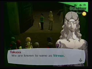 Persona 3 FES Strega meeting