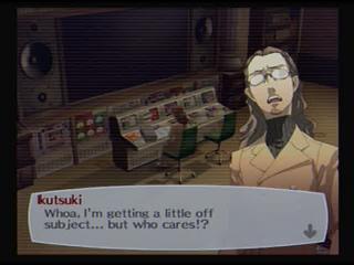 Persona 3 Shuji Ikutski crazyness