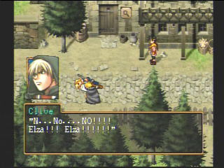 Suikoden II 2 Clive and Elza in Sajah