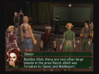 Suikoden IV 4 Elenor Lino Obel Ship War Room