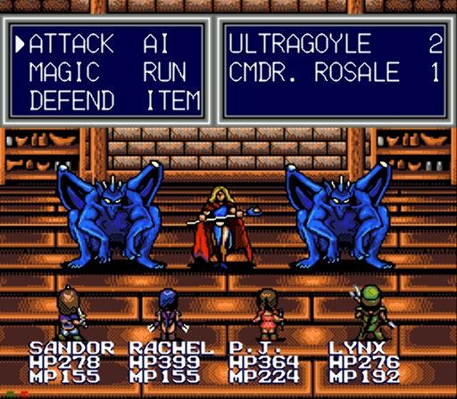 Cmdr. Rosale Ultragoyles boss fight