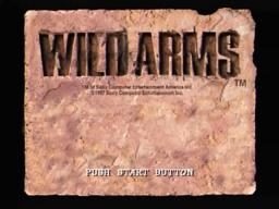 Wild ARms Opening