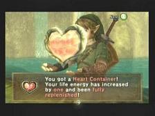Zelda Twilight Princess Heart Container