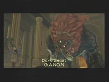 Zelda Twilight Princess Dark Beast Ganon