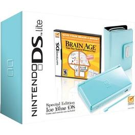 Light Ice Blue DS Lite Packages