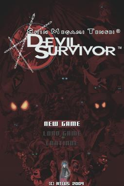 SMT Devil Survivor DS